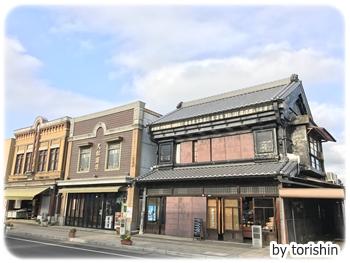 看板建築が面白い石岡の町並み ~茨城県石岡市~